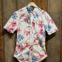 Gitman Bros. Vintage Bamboo Orchid Shirt Printed Cotton