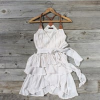 Scattered Ruffles Dress, Sweet Women's Country Clothing