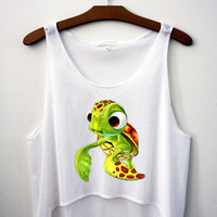 Squirt Crop Top - Hipster Tops