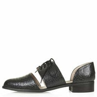 FLIP Three Part Brogues - Black