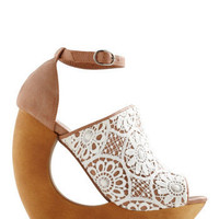 Jeffrey Campbell Written in Cursive Wedge | ModCloth.com