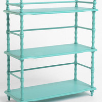 Everything Turquoise: Old House Bookshelf