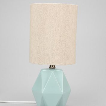 Faceted Pastel Table Lamp  Urban Outfitters