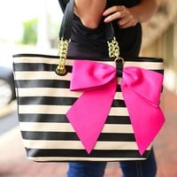 Bow-Nanza Tote by Betsey Johnson