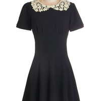 th Short Sleeves A-line TA-mazing Dress