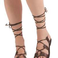 Kick Back Sandal in Chocolate | Mod Retro Vintage Sandals | ModCloth.com