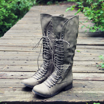 Upper County Boots in Taupe