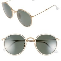 Ray-Ban 51mm Foldable Polarized Sunglasses