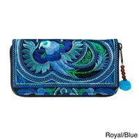 Hand-crafted Flower Hmong Wallet (Thailand)