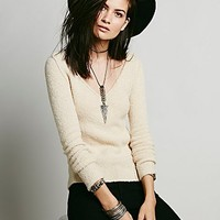 Free People Womens Sudan V-neck -