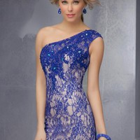 Mori Lee Sticks & Stones 9271 at Prom Dress Shop
