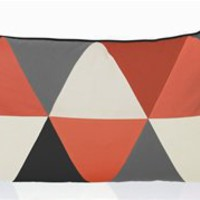 Columbine Cushion in Coral by Ferm Living | Burke Decor