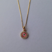 Tai Evil Eye Necklace | Dainty Necklace