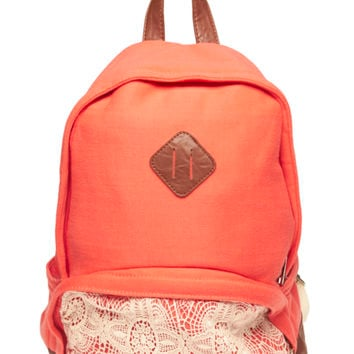 Crochet Pocket Backpack | Wet Seal