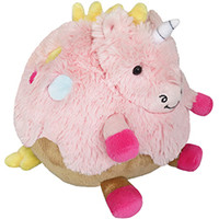Mini Squishable Cupcake Unicorn: An Adorable Fuzzy Plush to Snurfle and Squeeze!