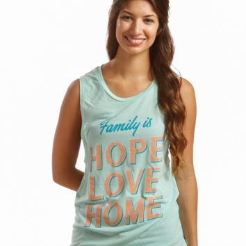 Family Is Muscle Tank - Charity