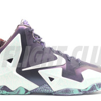 "lebron 11 (gs) ""gumbo league"" - cashmere/grn glow prpl dynsty 