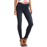"REFUGE ""SKIN TIGHT LEGGING"" DARK WASH SKINNY JEANS"