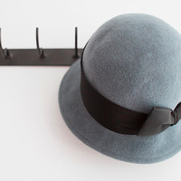 Lady Steel Jaunting Cloche by Una Hats | Madesmith