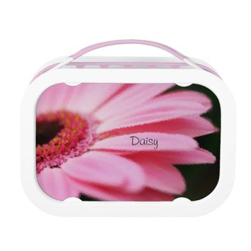 Pretty Pink Daisy Lunchbox