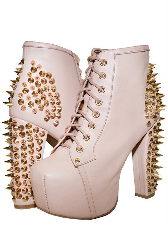 Jeffrey Campbell lita spike nude