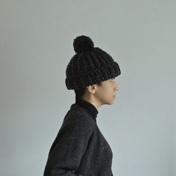 Old English Beanie in Black Forest Cake