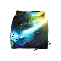 Galaxy Graphic Skirt 2