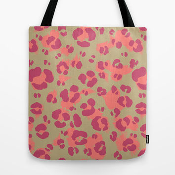Leopard Print #2 Tote Bag by Ornaart