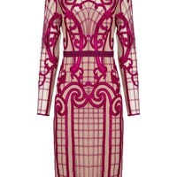 Damson Embroidered Catroux Dress | Temperley London | Avenue32