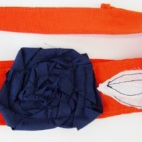 Orange and Blue Headband, Denver Broncos, UTSA, Florida Gators, Syracuse Otto Orange