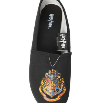 Harry Potter Hogwarts Crest Slip-On Shoes