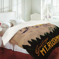 DENY Designs Home Accessories | Anderson Design Group Mt Rushmore Duvet Cover