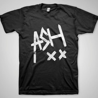 5SOS Ash Shirt Tshirt Clothing Ashton Irwin 5 Seconds Of Summer Black White For Men Women Unisex