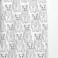 Allyson Johnson For DENY Cat Obsession Shower Curtain - Urban Outfitters