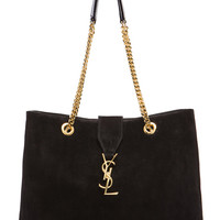 Monogramme Shopping Bag in Black