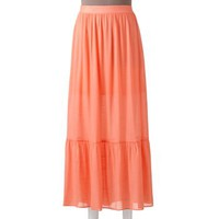 Candie's® Ruffled Maxi Skirt - Juniors