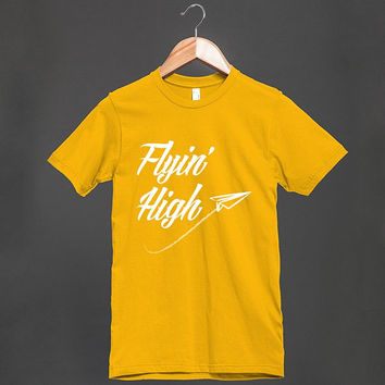 COOL SHIRT - Flyin' High paper airplane
