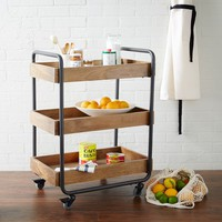 Wood Kitchen Caddy