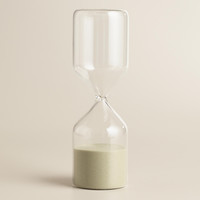 Hourglass with Tan Sand - World Market