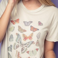 NIKOLA BUTTERFLIES TOP