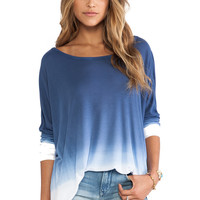 Saint Grace Omega Oversized Top in Liberty Ombre