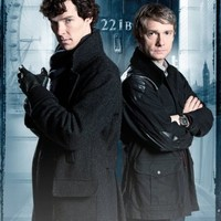 Sherlock - The Game Is On (221B Baker Street) 24x36 Poster Art Print