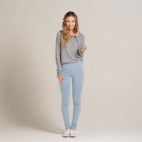 Hollister Alex High Rise Pull On Jean Leggings