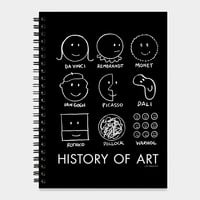 History Of Art Sketchbook