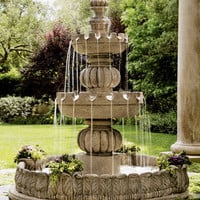 "Three-Tier ""Castle"" Fountain - Neiman Marcus"