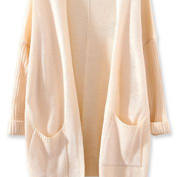 All-Matching Solid Knit Cardigan  OASAP.com