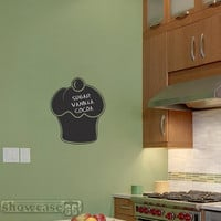 Chalkboard Cupcake Vinyl Wall Art FREE Shipping by showcase66