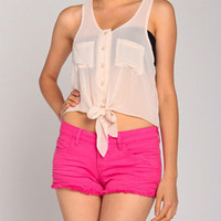 Picnic Ready Top in Cream