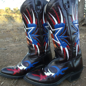 #Americanflag #eagle #cowboy #cowgirl #boots #Ameican #patriotic