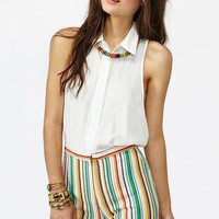 Fruit Striped Shorts